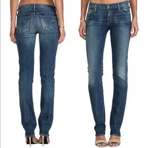Citizens of Humanity Ava lowrise straight leg jean